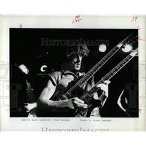 1983 Press Photo Rick Knotts rock Band Guitarist Mich - RRW06583