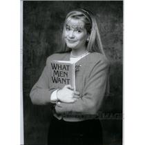 1990 Press Photo Bonnie Hunt American Actress Comedian - RRX50189