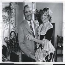 1981 Press Photo Perry Como Debby Boone Christmas ABC - RRV26461