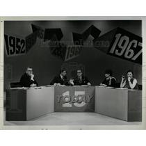 1982 Press Photo Hugh Downs News Anchor TV Host - RRY63475