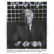 1992 Press Photo Walter Cronkite Anchorman Host - RRV79607