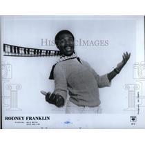 1983 Press Photo Rodney Franklin jazz pianist composer - RRX22271