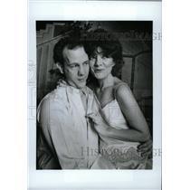 "1986 Press Photo Jim Ortlieb and Lois Hall ""Sorrows of - RRW76199"