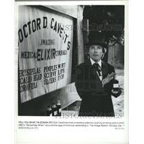 1981 Press Photo Richard Alva Dick Cavett host Makers - RRV16297