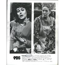 1972 Press Photo Portrays Colette Colleen Dewhurst Actress - RSC04537