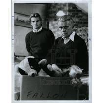 1986 Press Photo John Forsythe Actor Stage Film - RRX64237