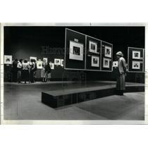 1978 Press Photo Portraits dramatic panoramic Museum - RRX52415
