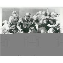 Press Photo Football's Don Woods, Doug Wilkerson and Russ Washington - XXB03657