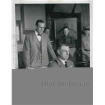1951 Press Photo Brigadier General William Mitchell & Attorney Reid In 1925