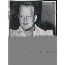 1964 Press Photo Green Bay Packers Paul Hornung With Reinstatement Telegram