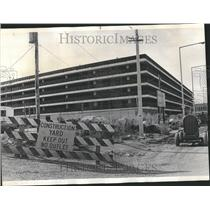 1973 Press Photo O Hare Construction Story Way Lot Hare - RRV43731