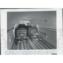 Press Photo Tunnel Like Fuselage of C-54