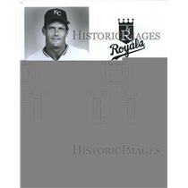 Press Photo George Brett Third Base - RSH00309