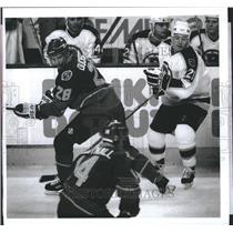 1998 Press Photo Boston Bruins vs St. Louis Blues - RSH23083