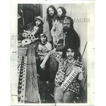 1074 Press Photo EDDIE BOY BAND CHICAGO BASED GROUP - RSC82853
