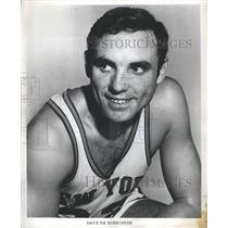1973 Press Photo NY Knicks player Dave DeBusschere - RSH26227