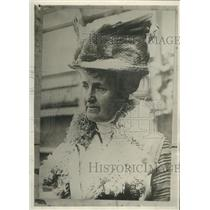 1912 Press Photo Mrs. Edward Harriman to Testify Before Senate Committee