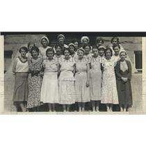 1932 Press Photo The Officers of the Pueblo Rainbow Girls - XXB12455