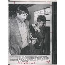 1973 Press Photo John Unitas and Wife  - RSH26581