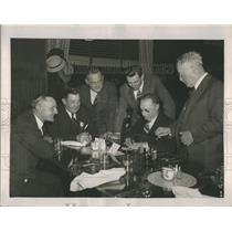 1940 Press Photo Bob Quinn, Casey Stengel, Jack Onslow, Frankie Frisch