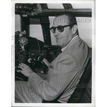 1956 Press Photo Mr. Six a Pilot - KSB48575