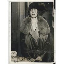 1926 Press Photo Princess Louise Sweden Crown Prince Gustavus Adolphus
