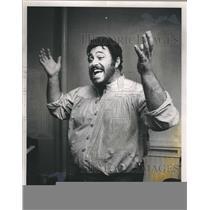 1981 Press Photo Luchiano Pavarotti Opera House - RSH04925