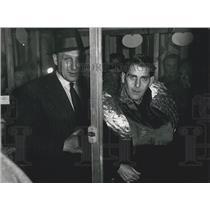 1956 Press Photo Joseph Wilwerth ,World championship in hungering