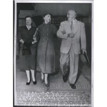 1954 Press Photo Mae Marsh/Lillian Gish/Donald Crisp - RSC95829