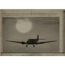 1970 Press Photo Junkers JU-52 Bomber Lands - RRW56645
