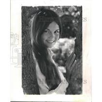 1973 Press Photo Sandra Leland Junior College Student. - RSH42763