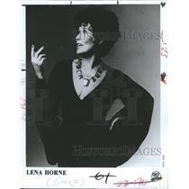 1981 Press Photo Lena Horne singer - RSH43533