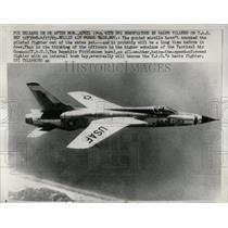 1961 Press Photo USAF Republic F105 Fighter Plane - RRW56959