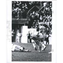 Press Photo Delvin William Miami Dolphins Football Running Back During Play