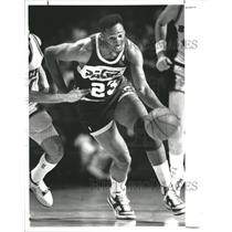 1988 Press Photo Indiana Pacers Wayman Tisdale - RSH31329
