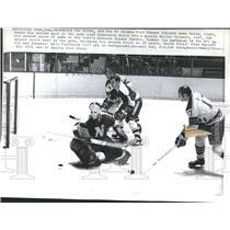 1971 Press Photo Dave Balon, Giles Gilbert, Fred Barrett and Bill Fairbairn