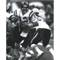 Press Photo Stan Humphries San Diego Chargers Football Quarterback - RSH30959