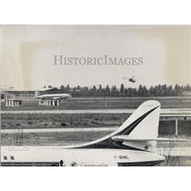 Press Photo F-BHRL Caravelle On Ground In France