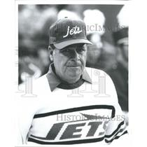 Press Photo New York Jets Coach Joe Walton - RSH31395