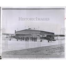 1952 Press Photo 1931 photo if Wyoming Air Service 1st flight. - RSH61475