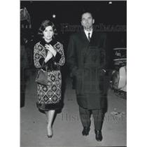 1964 Press Photo Italian Actress Gina Lollobrigida