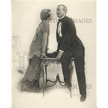 1915 Press Photo The Girl Of Tomorrow Actors Joseph Howard Mabel McCane