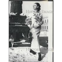 1966 Press Photo New fashion-style