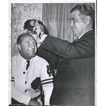 1963 Press Photo Billy Reay Jim Norris - RSH31903