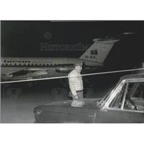 1970 Press Photo Rumanian Airplane Hi-jacked - forced to land at Munich