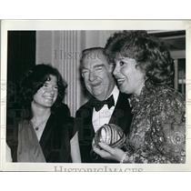 1981 Press Photo Newsman Walter Cronkite,Dr Sally Ride, Astronaut, Beverly Sills