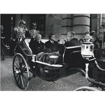 1972 Press Photo 90th birthday of King Gustav Adolf of Sweden