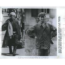 1967 Press Photo Moslem Man Samarkland / Siberian Construstion Worker