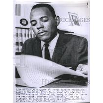 1963 Press Photo James H. Meredith, First Negro Knowingly Admitted Univversity