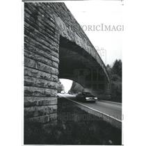 1991 Press Photo Parkway Bridge in Deep Gap, N.C. - RSH28353